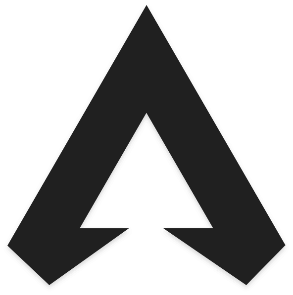 Apex Legends Logo In Black and White