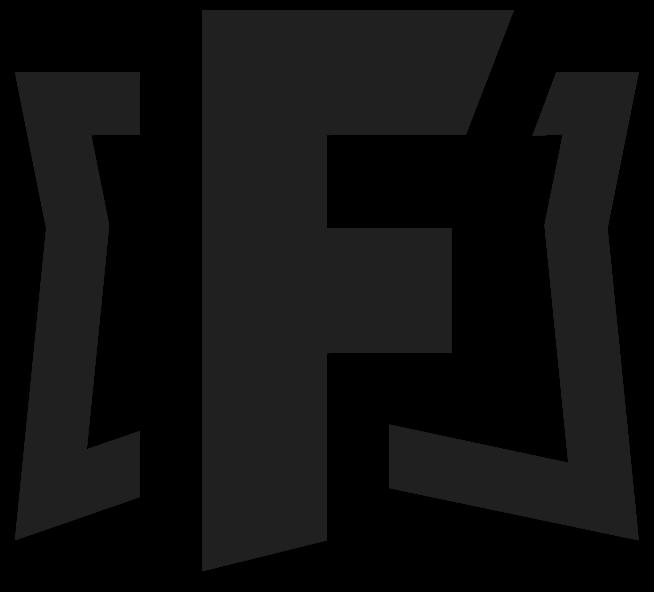Fortnite Logo In Black and White