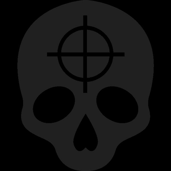 Kill Boost Icon In Black and White