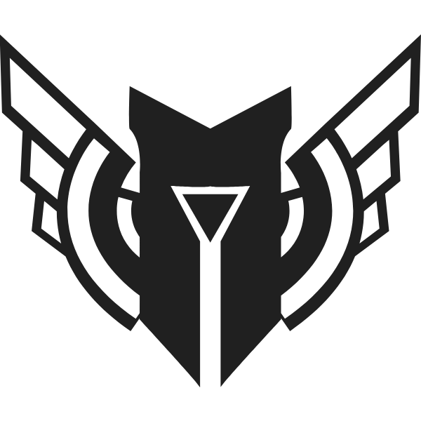Champion Mastery Icon In Black and White