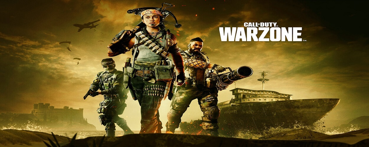 Videogame Cover Of Call Of Duty Warzone